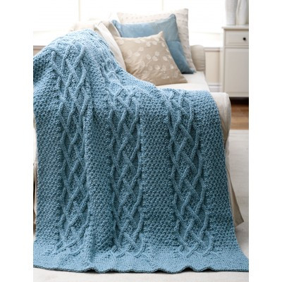 Awesome Cushy Cables Afghan Free Knitting Pattern ⋆ Knitting Bee Crochet Cable Blanket Of Lovely 46 Models Crochet Cable Blanket