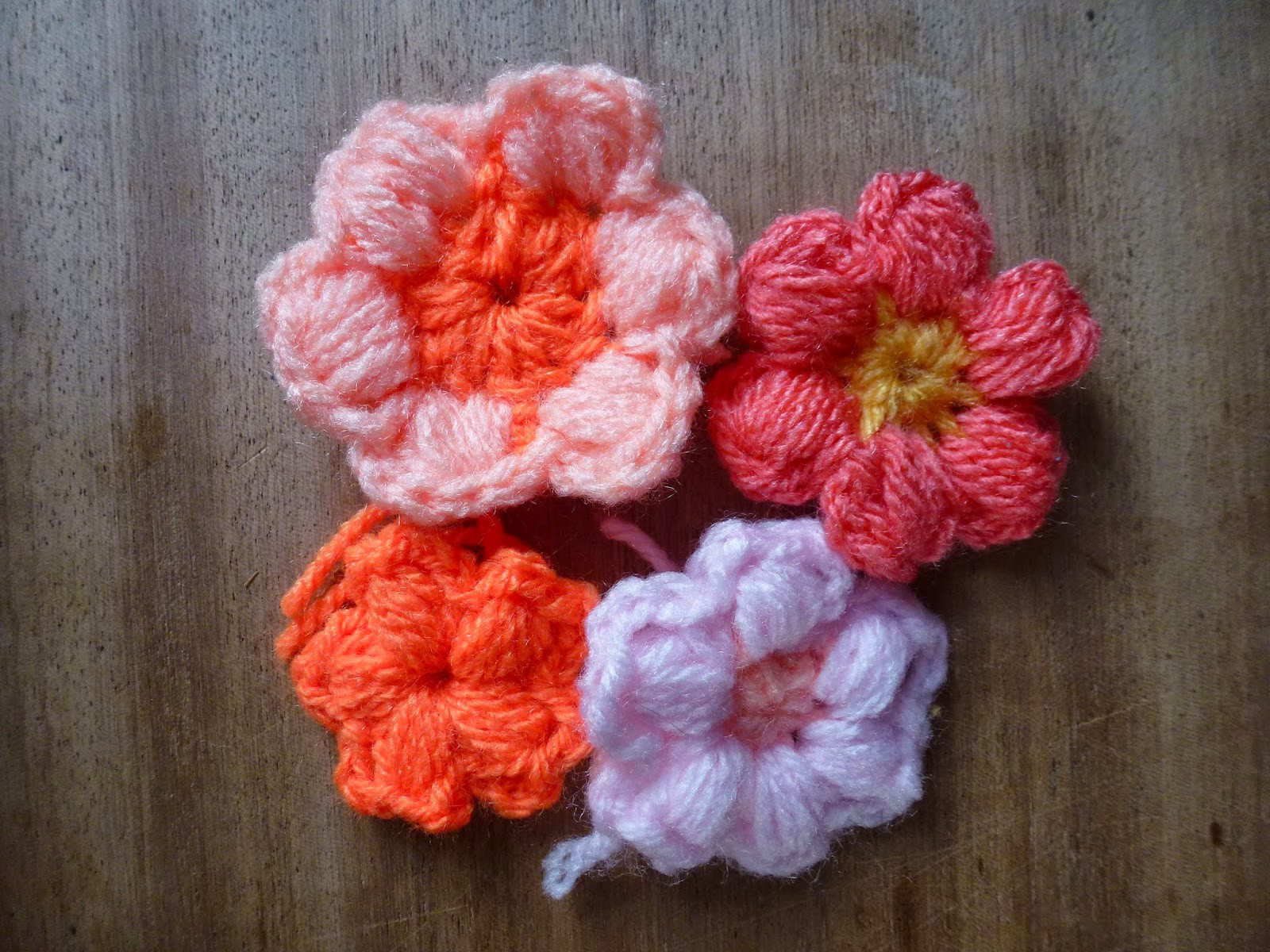 Awesome Dancing Moth A Flower A Day Crochet Puff Stitch Flowers Puff Crochet Of Great 49 Ideas Puff Crochet