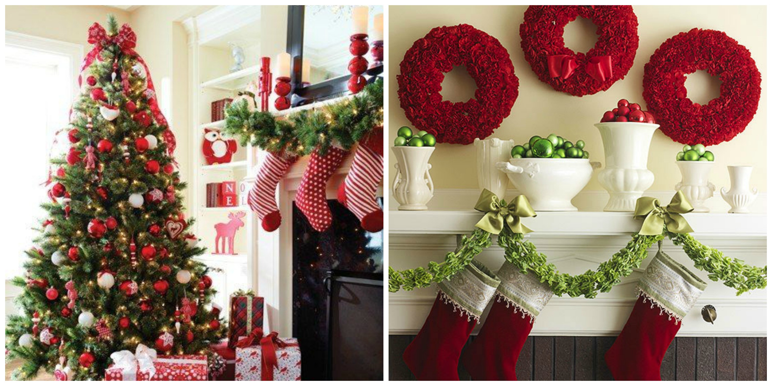 Awesome Decorating for the Holidays Less is More Red Christmas Decorations Of Fresh 42 Images Red Christmas Decorations
