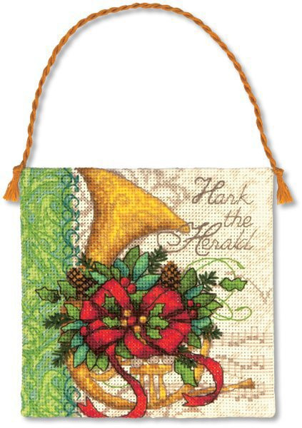 Awesome Dimensions French Horn Christmas ornament Cross Stitch Cross Stitch Christmas ornament Kits Of Gorgeous 46 Models Cross Stitch Christmas ornament Kits