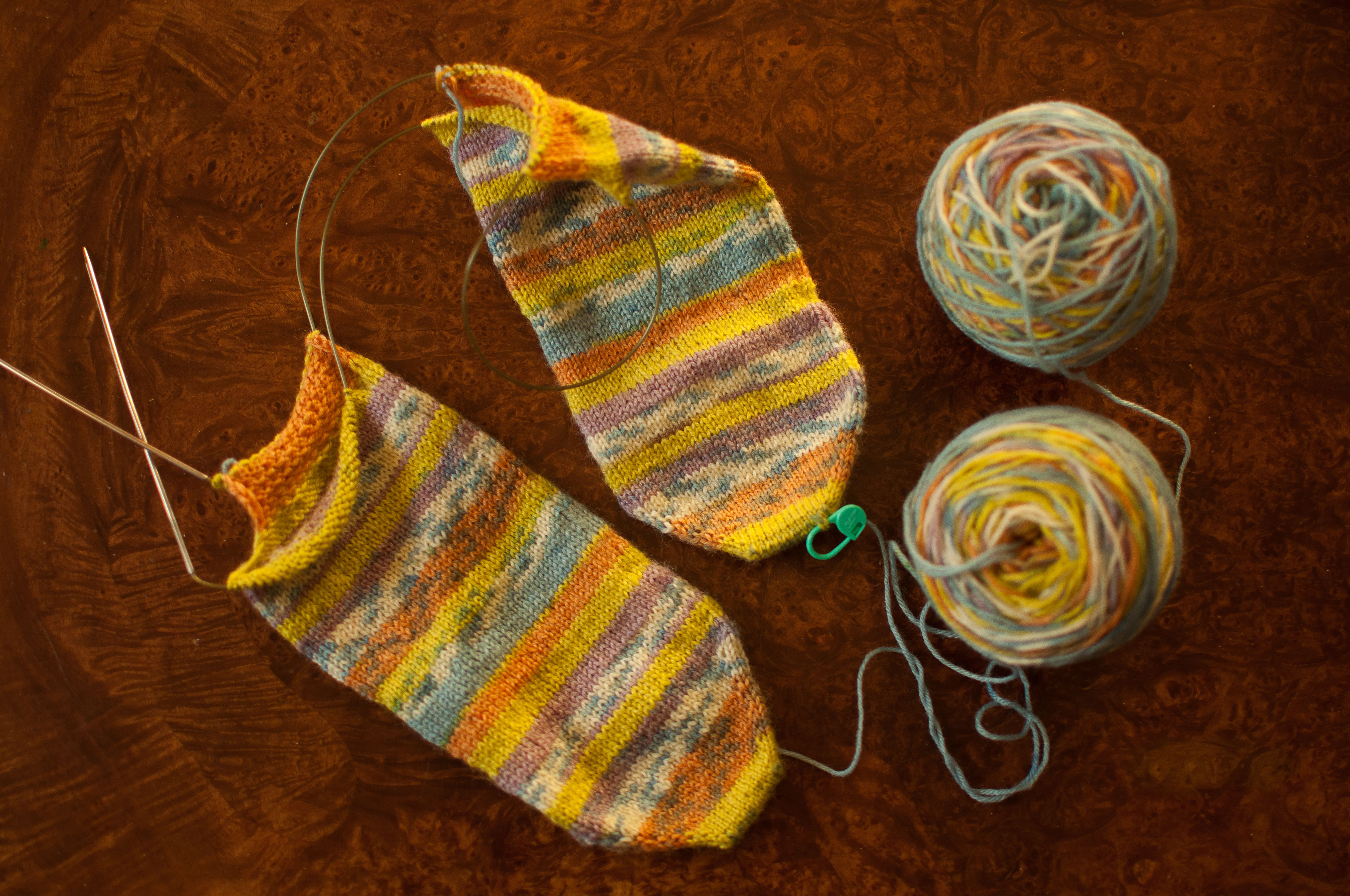 Awesome Ditch Your Dpns for Knitting socks with Magic Loop sock Knitting Needles Of Wonderful 44 Photos sock Knitting Needles