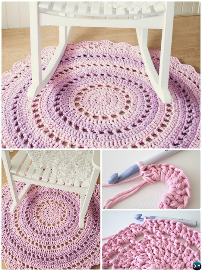 Awesome Diy Crochet area Rug Ideas Free Patterns Free Crochet Rug Patterns Of Delightful 48 Pics Free Crochet Rug Patterns