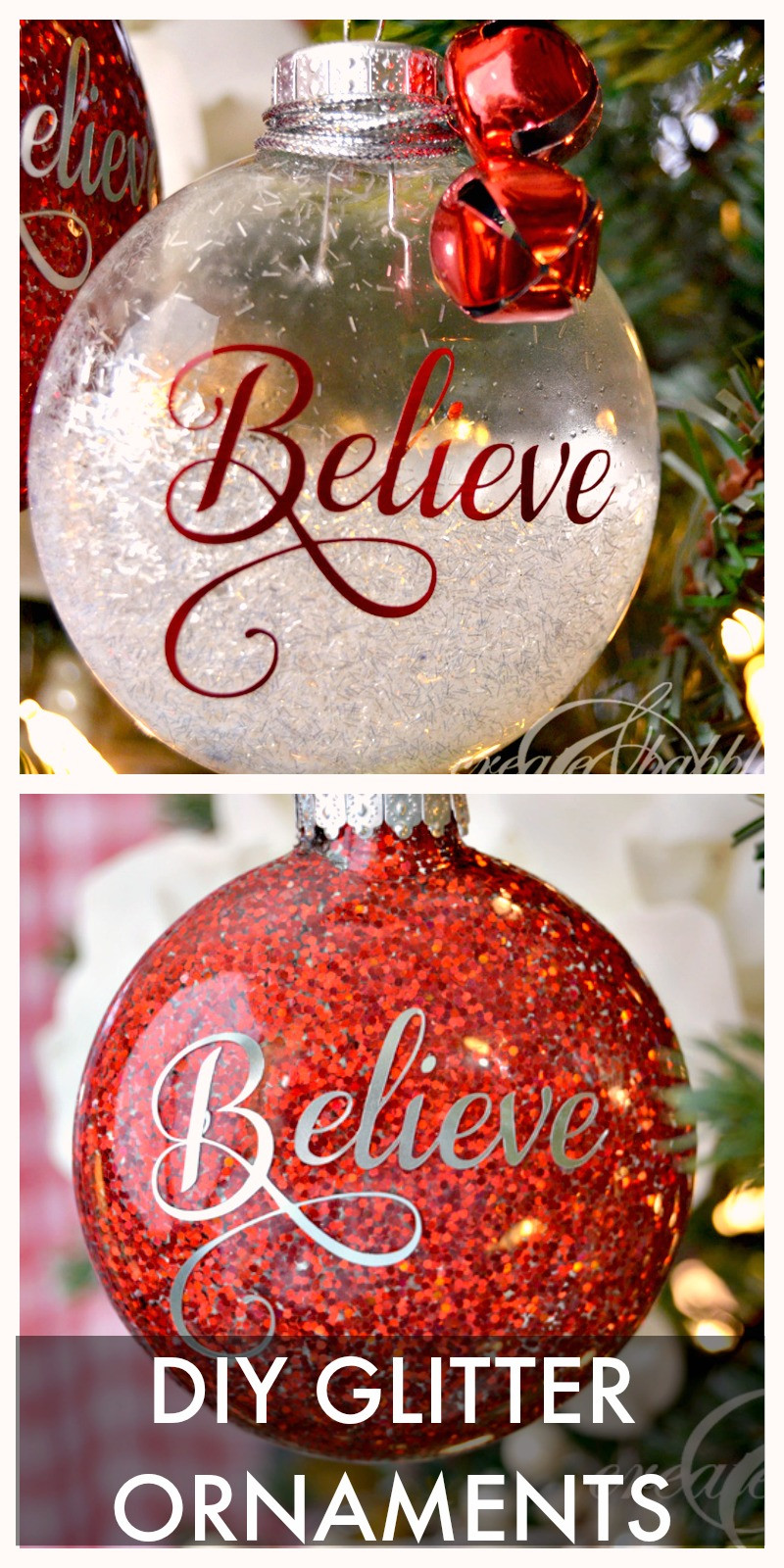 Awesome Diy Glitter Christmas ornaments Create and Babble Diy Xmas ornaments Of Amazing 50 Ideas Diy Xmas ornaments