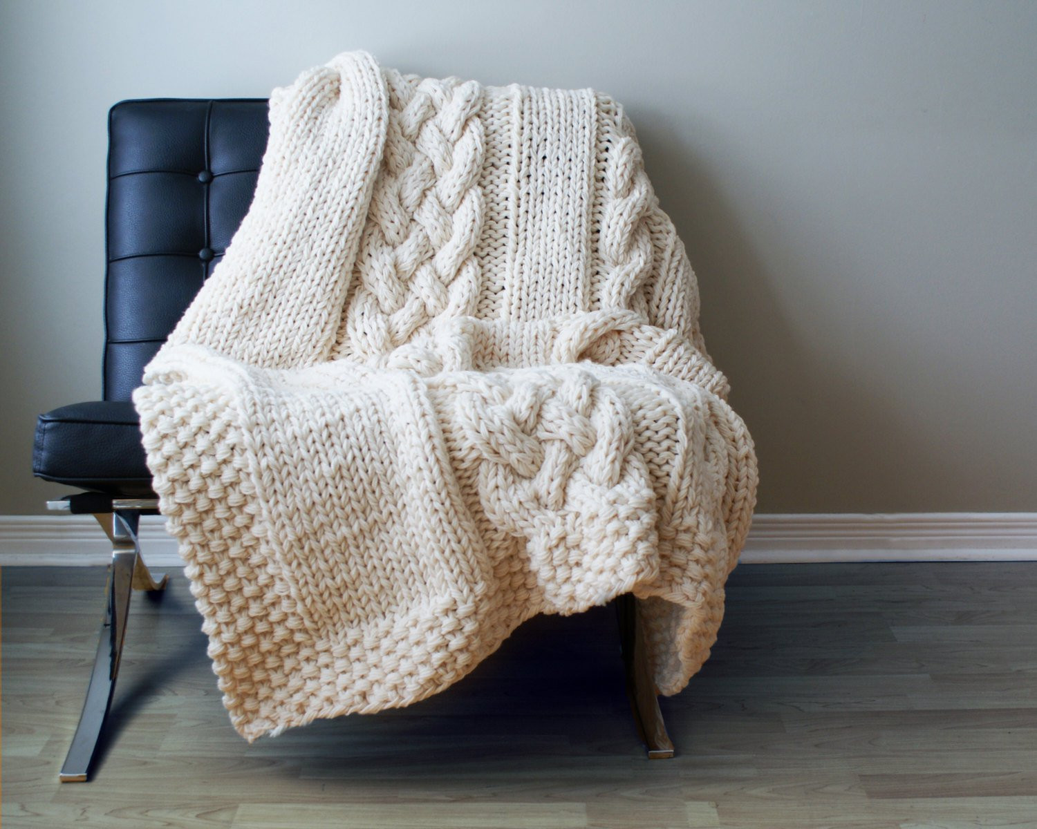 Awesome Diy Knitting Pattern Throw Blanket Rug Super Chunky Double Cable Blanket Of Contemporary 40 Ideas Cable Blanket