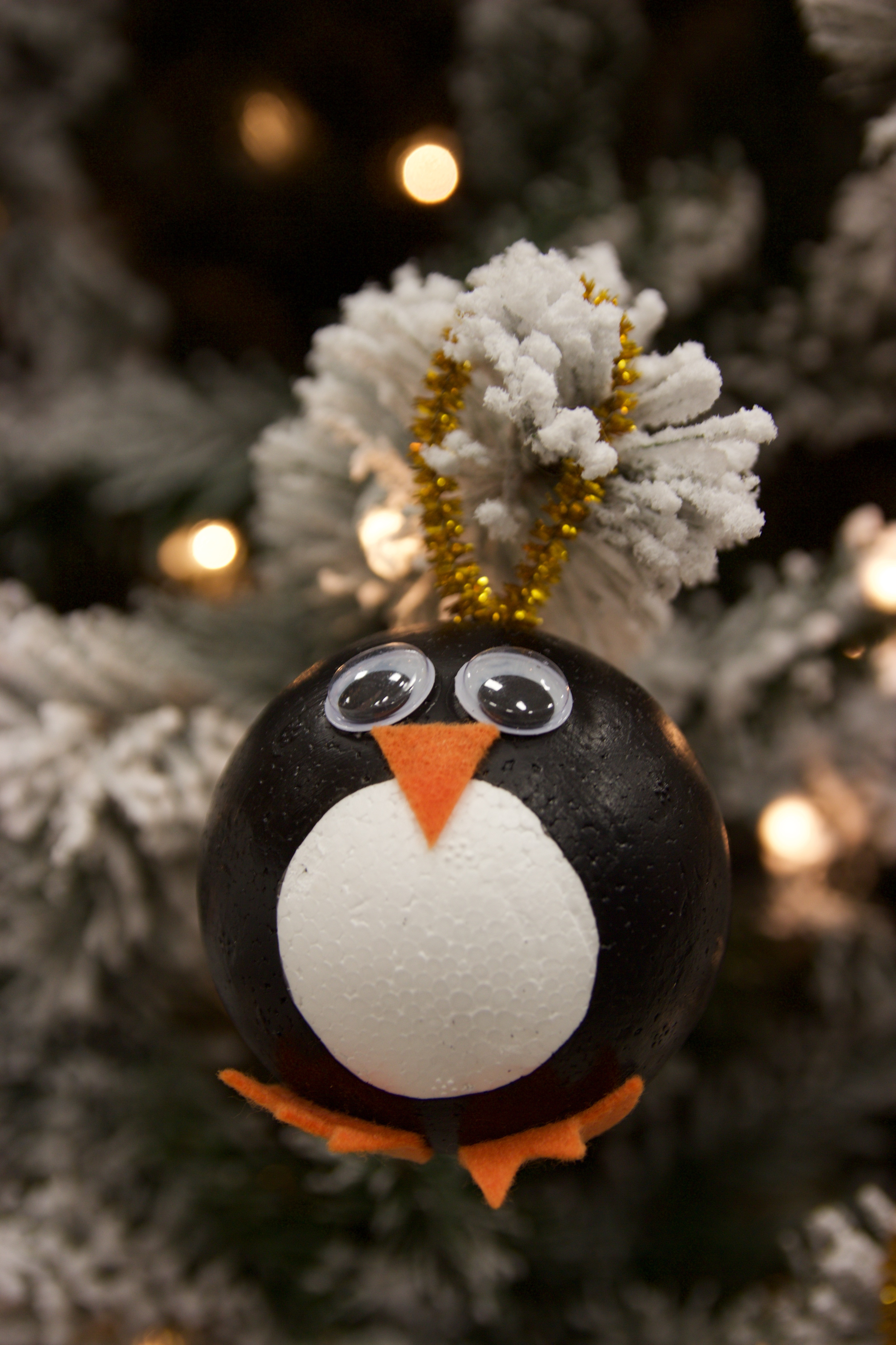Awesome Diy Penguin ornaments A Little Craft In Your Day Penguin Christmas ornaments Of Top 50 Models Penguin Christmas ornaments