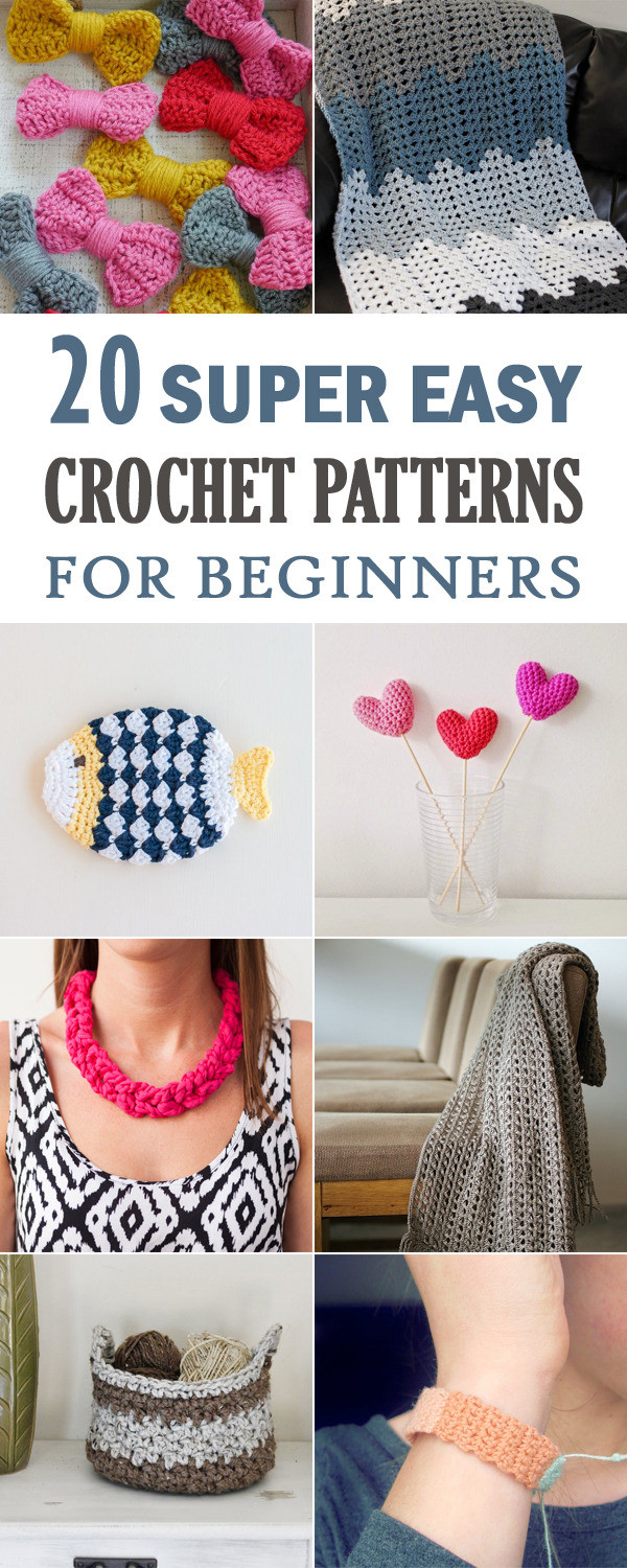 Awesome Diy Projects and Crafts Easy Crochet for Beginners Of Brilliant 49 Pics Easy Crochet for Beginners