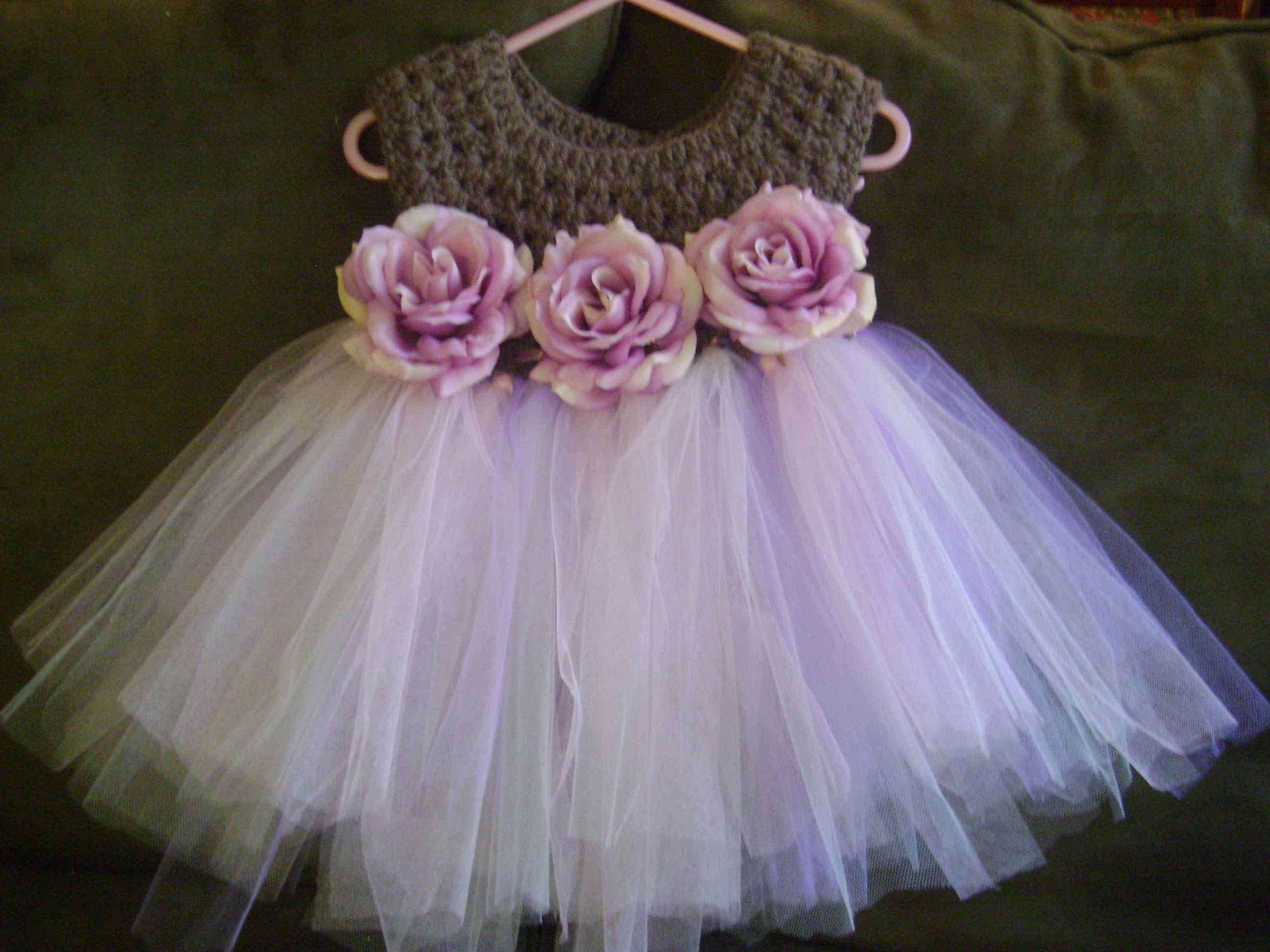 Diy tutu dress with crochet top Hairstyle for women & man
