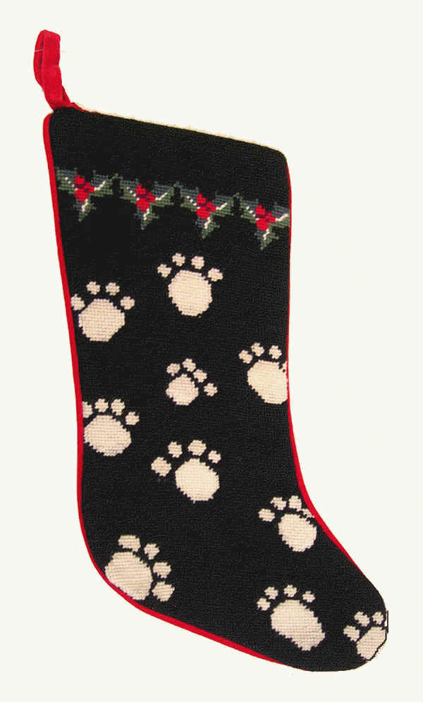 Dog Bones Christmas Stocking for Dogs and Other Dog Breed