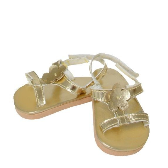 "Awesome Doll Clothes Ag 18"" Sandals Shoes Gold Springfield Made Ag Doll Shoes Of Superb 49 Photos Ag Doll Shoes"