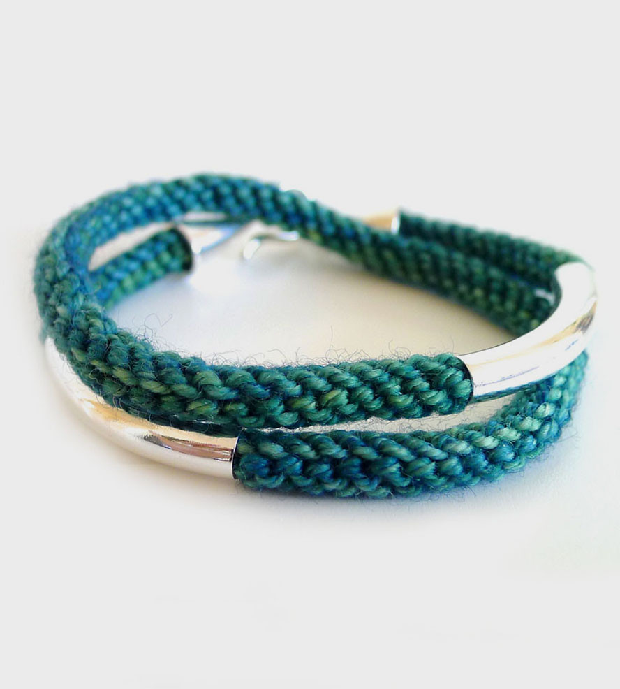 Awesome Double Knit Bracelet Jewelry Bracelets Knitted Bracelet Of Brilliant 50 Models Knitted Bracelet