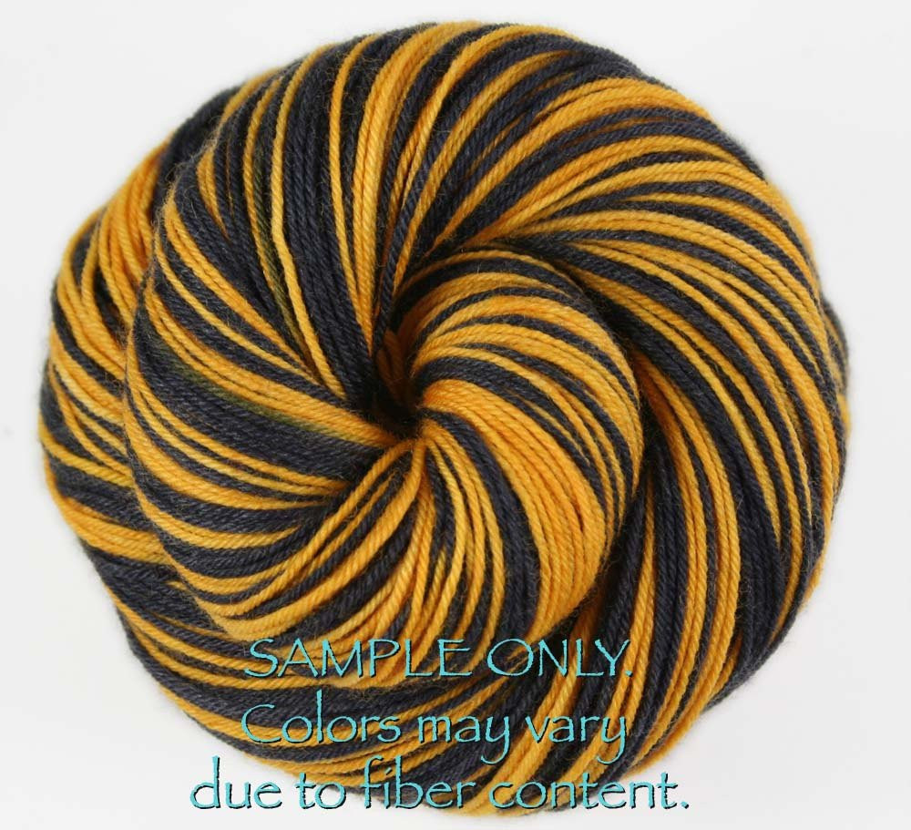 """Awesome Dyed to order Self Striping Hand Dyed sock Yarn """"black Black and Gold Yarn Of Superb 46 Images Black and Gold Yarn"""