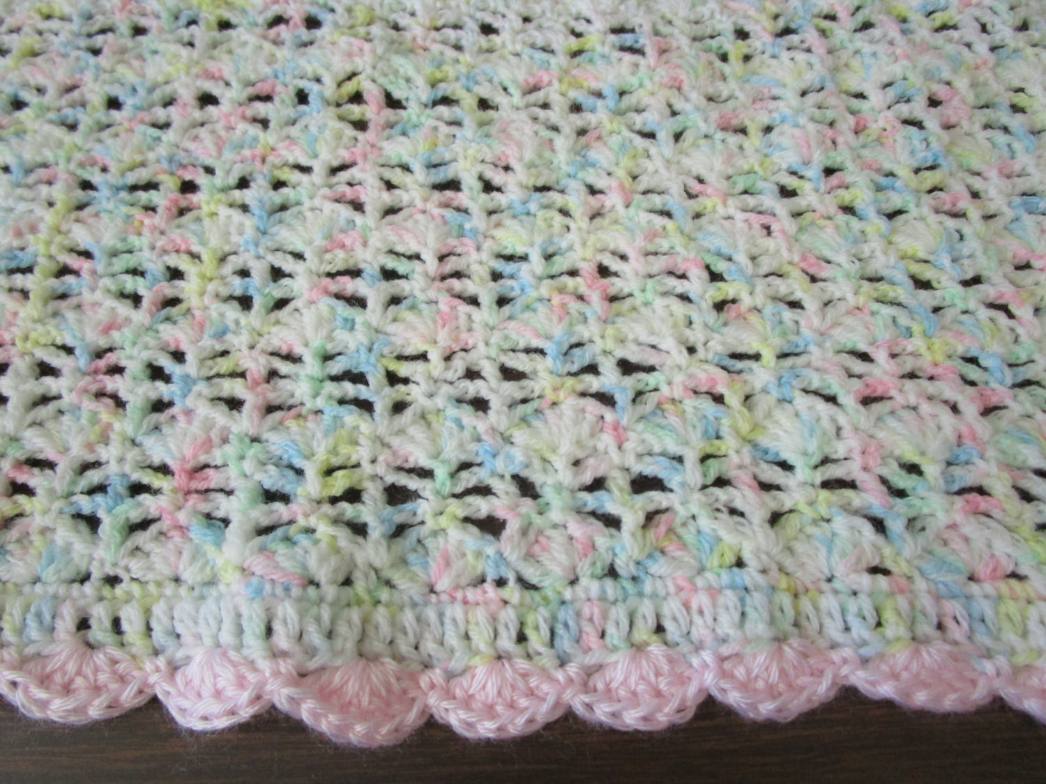 Awesome Easy Crochet Blanket Pattern Blooming Shell Stitch Crochet Shell Baby Blanket Of Superb 42 Images Shell Baby Blanket