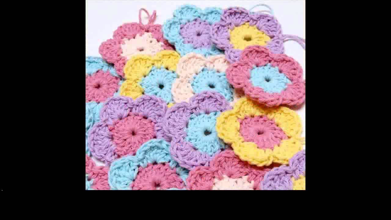 easy crochet flower for beginners