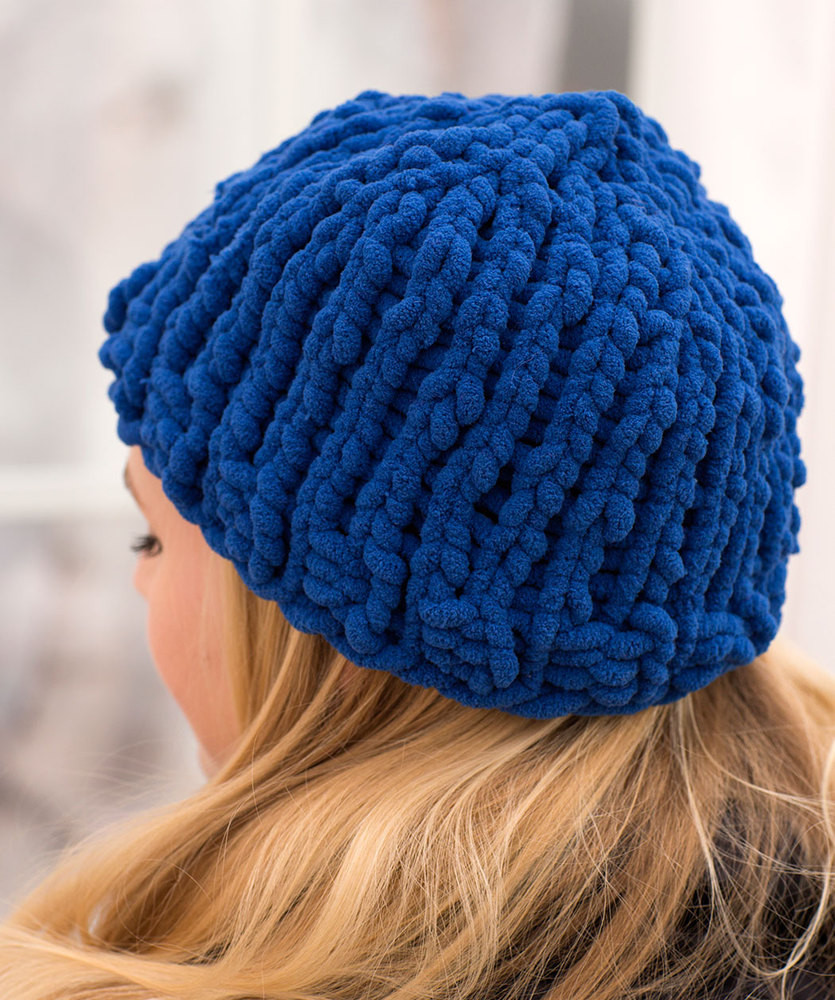 Awesome Easy Peasy Bulky Hat Free Knitting Pattern ⋆ Knitting Bee Free Easy Knitting Patterns Of Gorgeous 46 Models Free Easy Knitting Patterns
