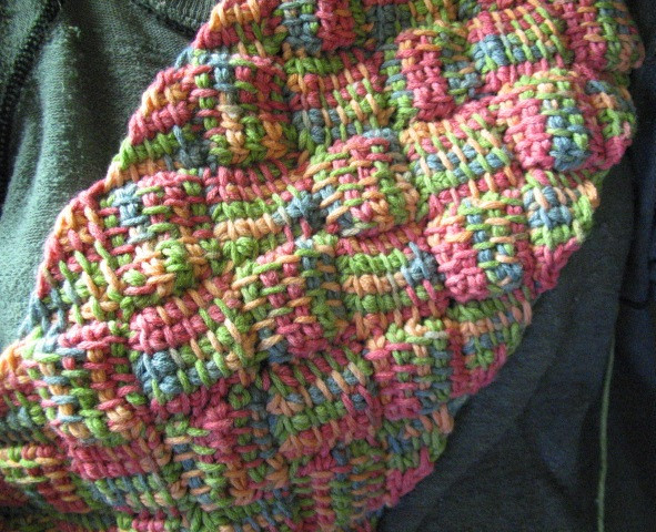 Awesome Entrelac True Tunisian Tunisian Crochet In the Round Of New 46 Models Tunisian Crochet In the Round