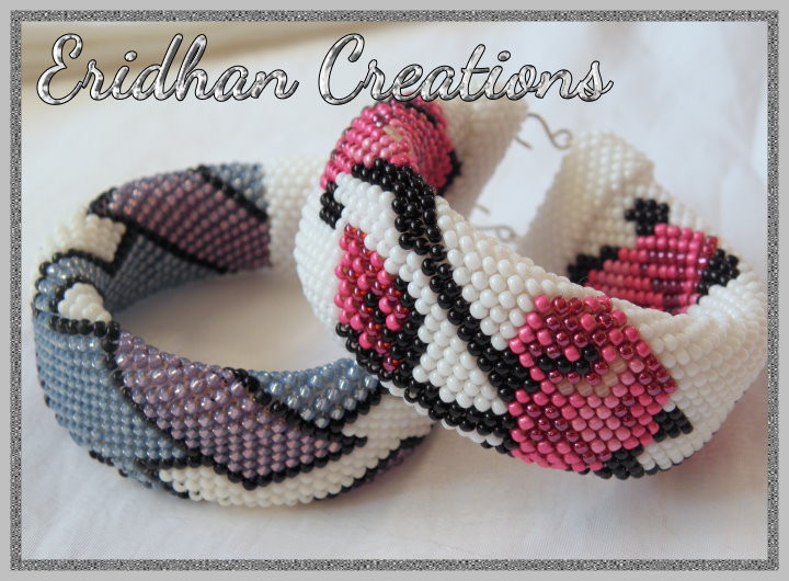 Awesome Eridhan Creations Beading Tutorials Beaded Crochet Crochet Beaded Bracelet Pattern Of Brilliant 49 Images Crochet Beaded Bracelet Pattern