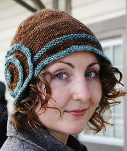 Awesome Escargot Hat Knitty Winter Bis 2011 Knit Cloche Hat Of Attractive 40 Photos Knit Cloche Hat