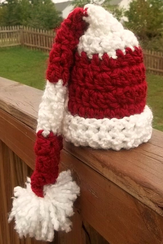 Awesome Etsy Your Place to and Sell All Things Handmade Crochet Baby Santa Hat Of Amazing 44 Images Crochet Baby Santa Hat