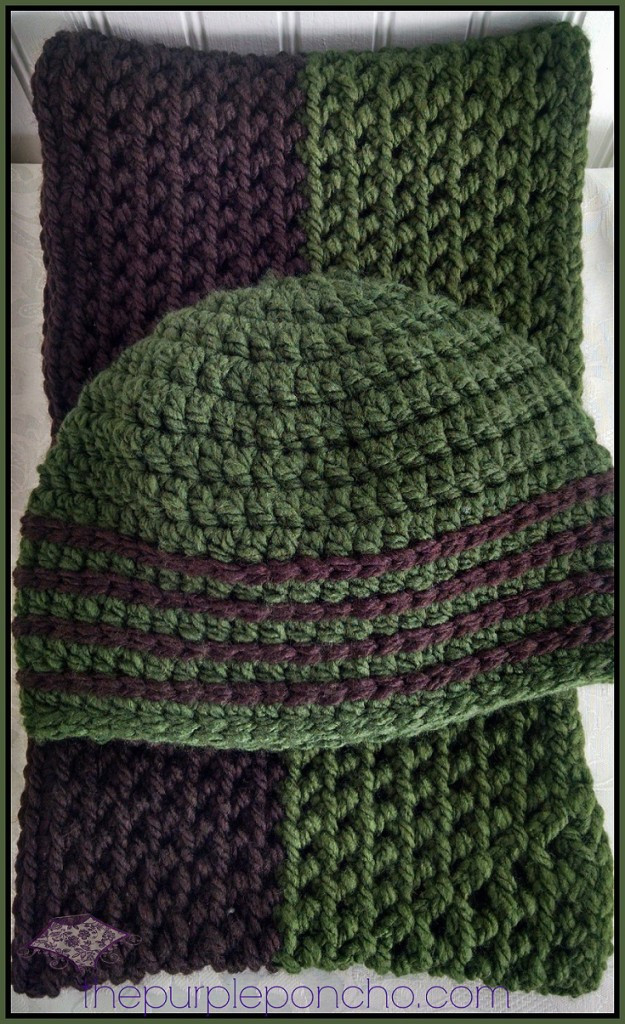 Favorite Hat & Scarf Set – Two Free Crochet Patterns – The