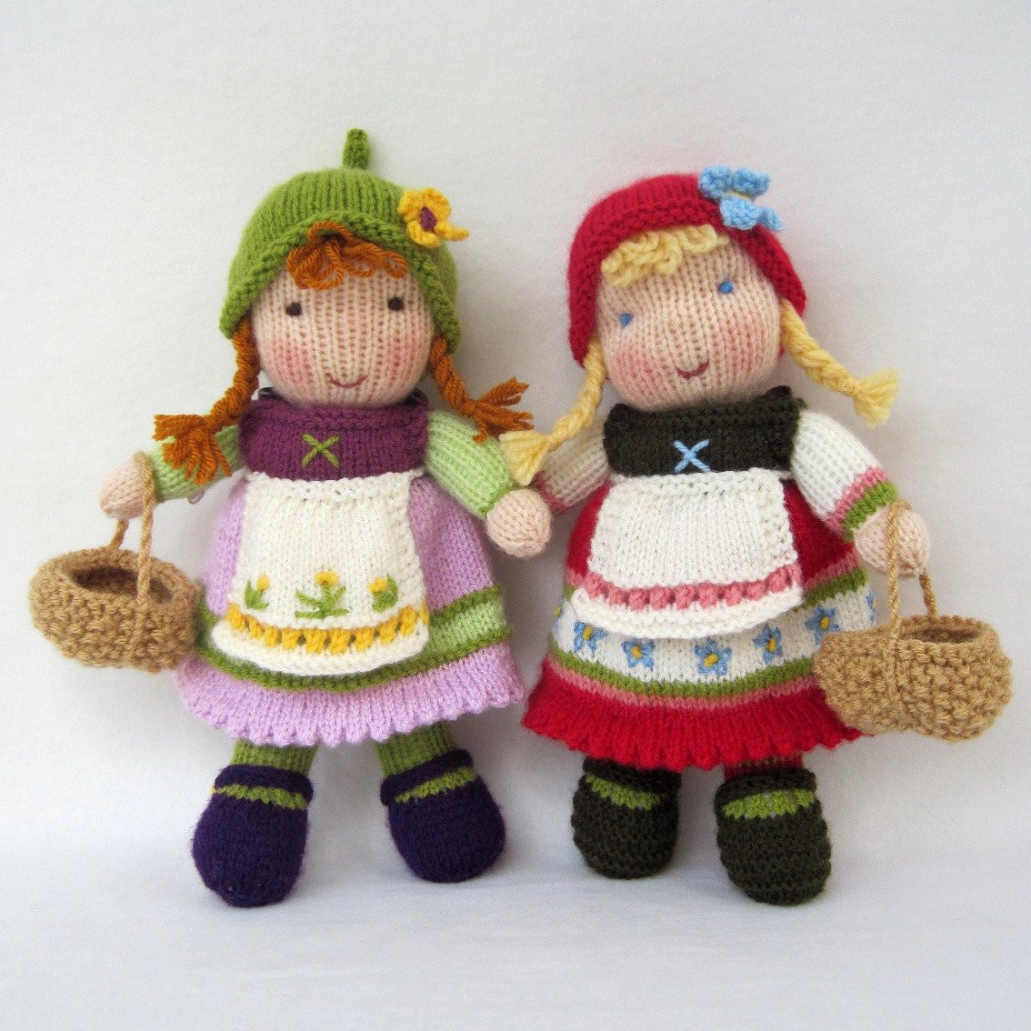 Awesome Fern and Flora Pdf Email toy Doll Knitting Pattern Knitted Doll Patterns Of Lovely 40 Models Knitted Doll Patterns