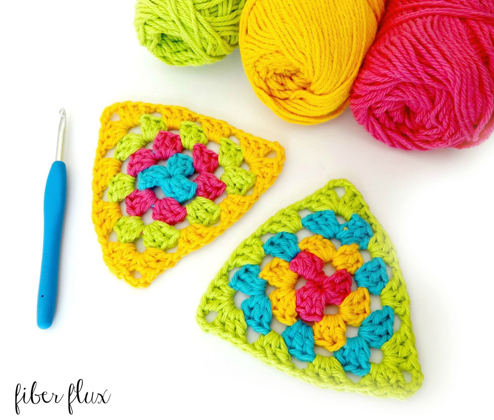 Awesome Fiber Flux How to Crochet A Granny Triangle Crochet Triangle Of Amazing 48 Ideas Crochet Triangle