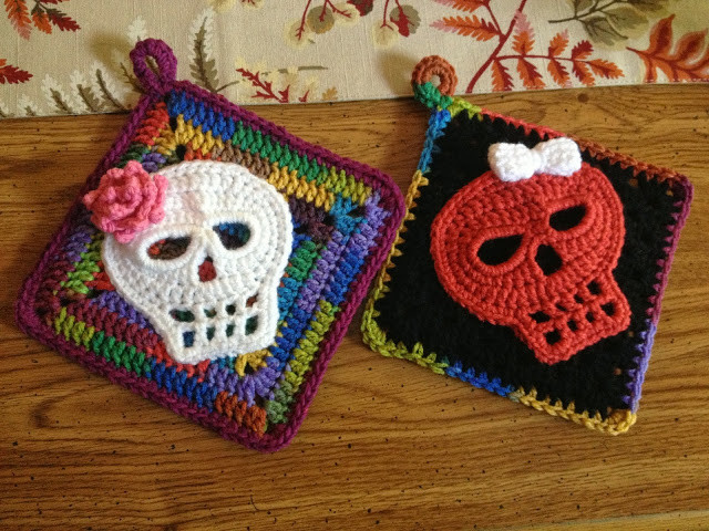 Awesome Fiddlesticks My Crochet and Knitting Ramblings Crochet Sugar Skull Of Incredible 47 Pictures Crochet Sugar Skull