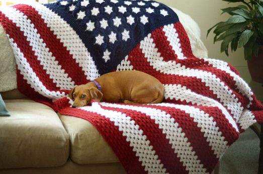 Awesome Flags American Flag and Crochet Afghans On Pinterest American Flag Crochet Pattern Of Attractive 40 Pics American Flag Crochet Pattern