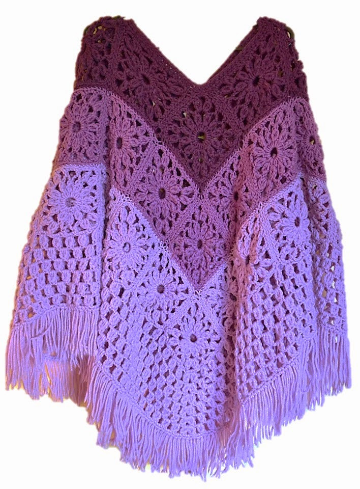 Awesome Flatter Your Figure with these Free Crochet Poncho Patterns Granny Square Poncho Of Adorable 49 Photos Granny Square Poncho