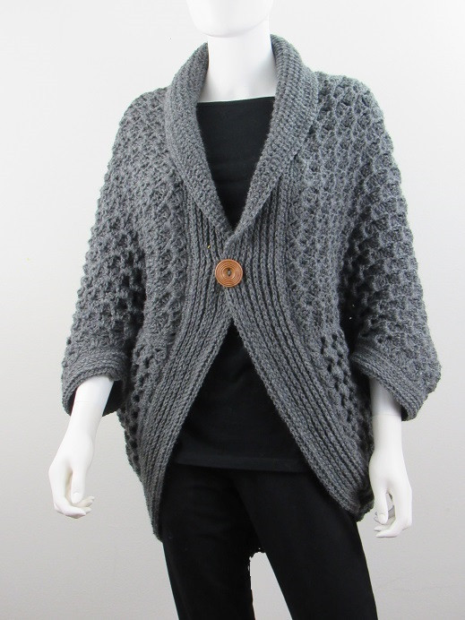 Awesome for the Love Of Crochet Along Crochet Cocoon Cardigan Of Charming 45 Pics Crochet Cocoon Cardigan