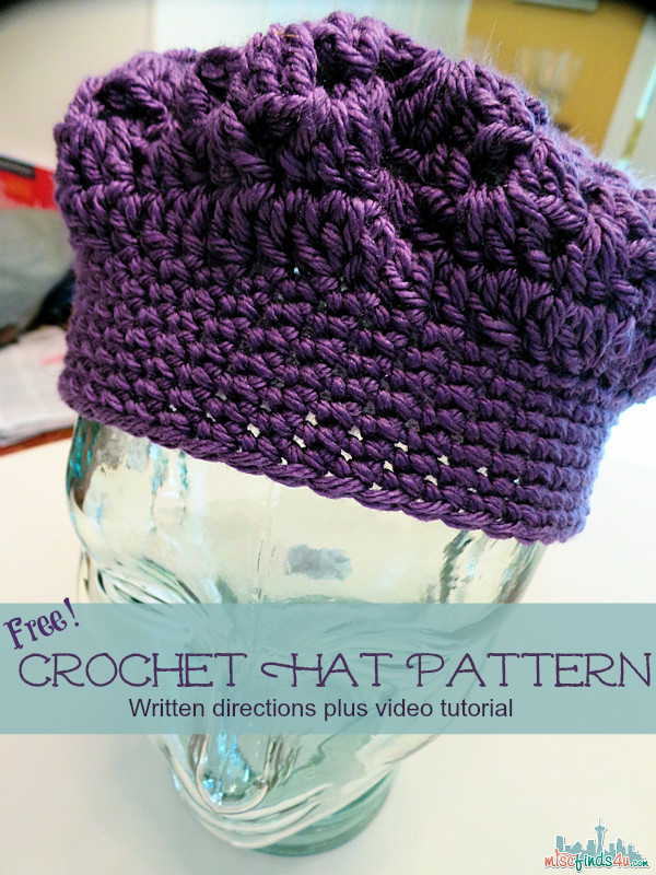 Awesome Free Adult Hat Pattern Crochet Hat Pattern Video Crochet Hat Patterns for Adults Of Fresh Give A Hoot Crocheted Hat Free Pattern for Kids and Adult Crochet Hat Patterns for Adults