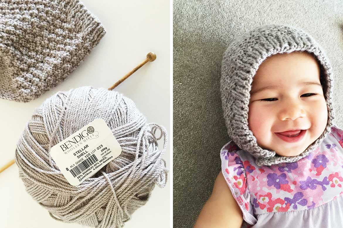 Awesome Free Baby Bonnet Hat Pattern Easy Knitting for Beginners Baby Knits for Beginners Of Innovative 45 Pictures Baby Knits for Beginners