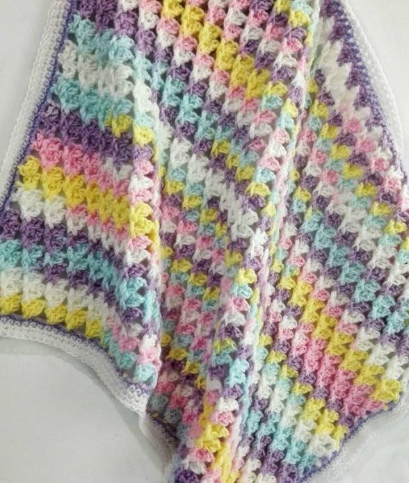 Awesome Free Crochet Baby Blanket Patterns for Beginners Simple Crochet Baby Blanket Of Marvelous 48 Pictures Simple Crochet Baby Blanket