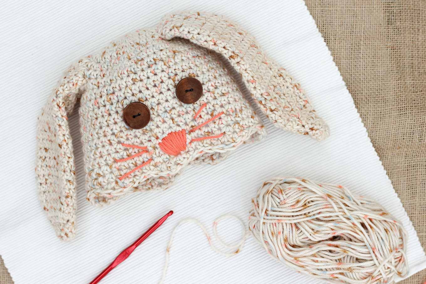 Awesome Free Crochet Bunny Hat Pattern Newborn toddler Make Baby Bunny Hat Of Brilliant 47 Pictures Baby Bunny Hat