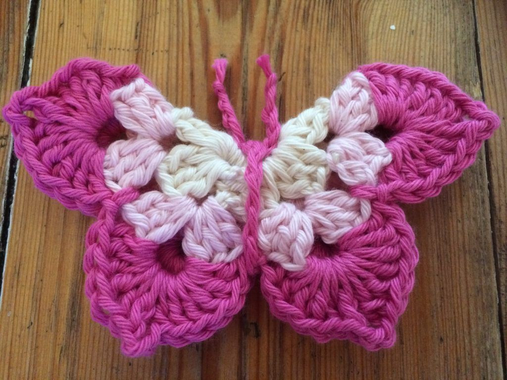 Awesome Free Crochet butterfly Pattern Re Madebysam Free Crochet butterfly Pattern Of Unique 45 Ideas Free Crochet butterfly Pattern