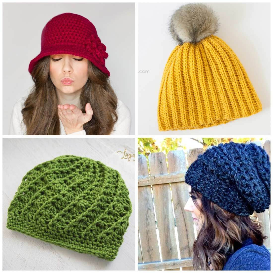 Awesome Free Crochet Hat Patterns Daisy Cottage Designs Crochet Stitches for Hats Of Lovely 46 Models Crochet Stitches for Hats