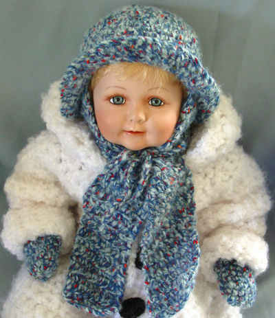 Awesome Free Crochet Pattern – Bulky Baby Hat Mittens & Scarf 6 Hat and Scarf Crochet Pattern Of Lovely 41 Pictures Hat and Scarf Crochet Pattern