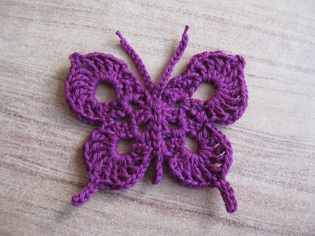 Awesome Free Crochet Pattern for butterfly Afghan Dancox for Free Crochet butterfly Pattern Of Unique 45 Ideas Free Crochet butterfly Pattern
