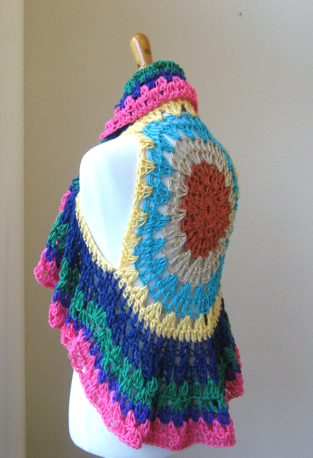 Awesome Free Crochet Pattern for Hippie Vest Dancox for Free Hippie Crochet Patterns Of New 49 Pictures Free Hippie Crochet Patterns