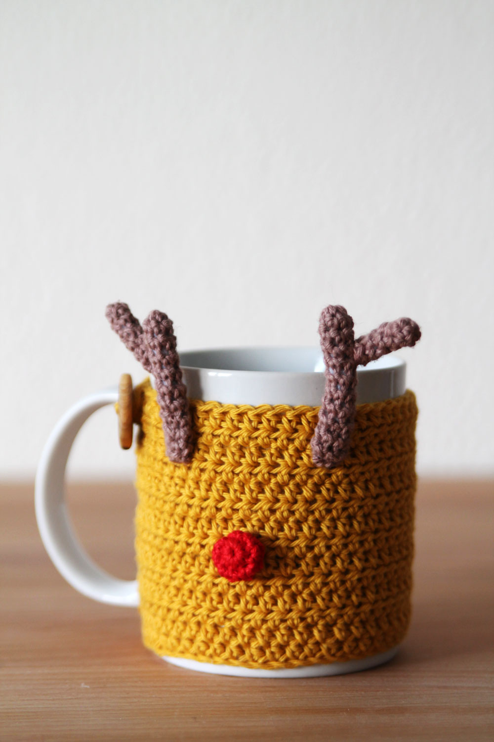 Awesome Free Crochet Pattern for Reindeer Mug Cozy Eng Nl Crochet Cup Cozies Of Wonderful 42 Pics Crochet Cup Cozies