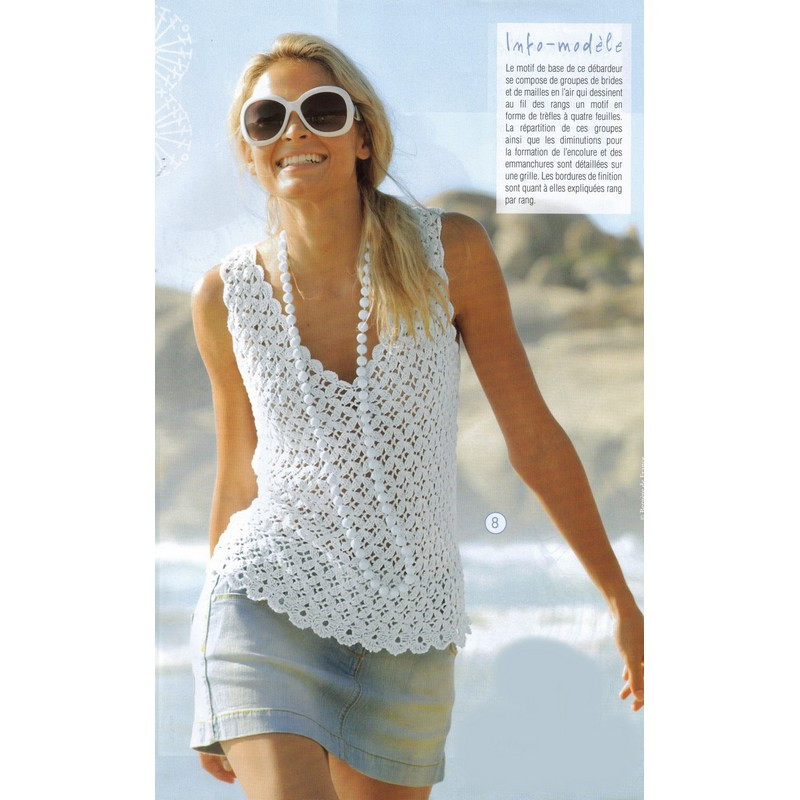 Awesome Free Crochet Pattern for Summer tops Crochet and Crochet Tank top Pattern Of Top 50 Images Crochet Tank top Pattern