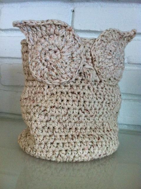 Awesome Free Crochet Pattern Owl Basket Dancox for Crochet Owl Basket Of Brilliant 47 Photos Crochet Owl Basket