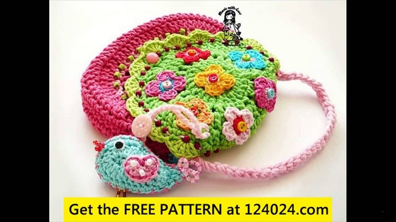Awesome Free Crochet Purse Patterns Youtube Free Crochet Patterns Of Unique 42 Models Youtube Free Crochet Patterns