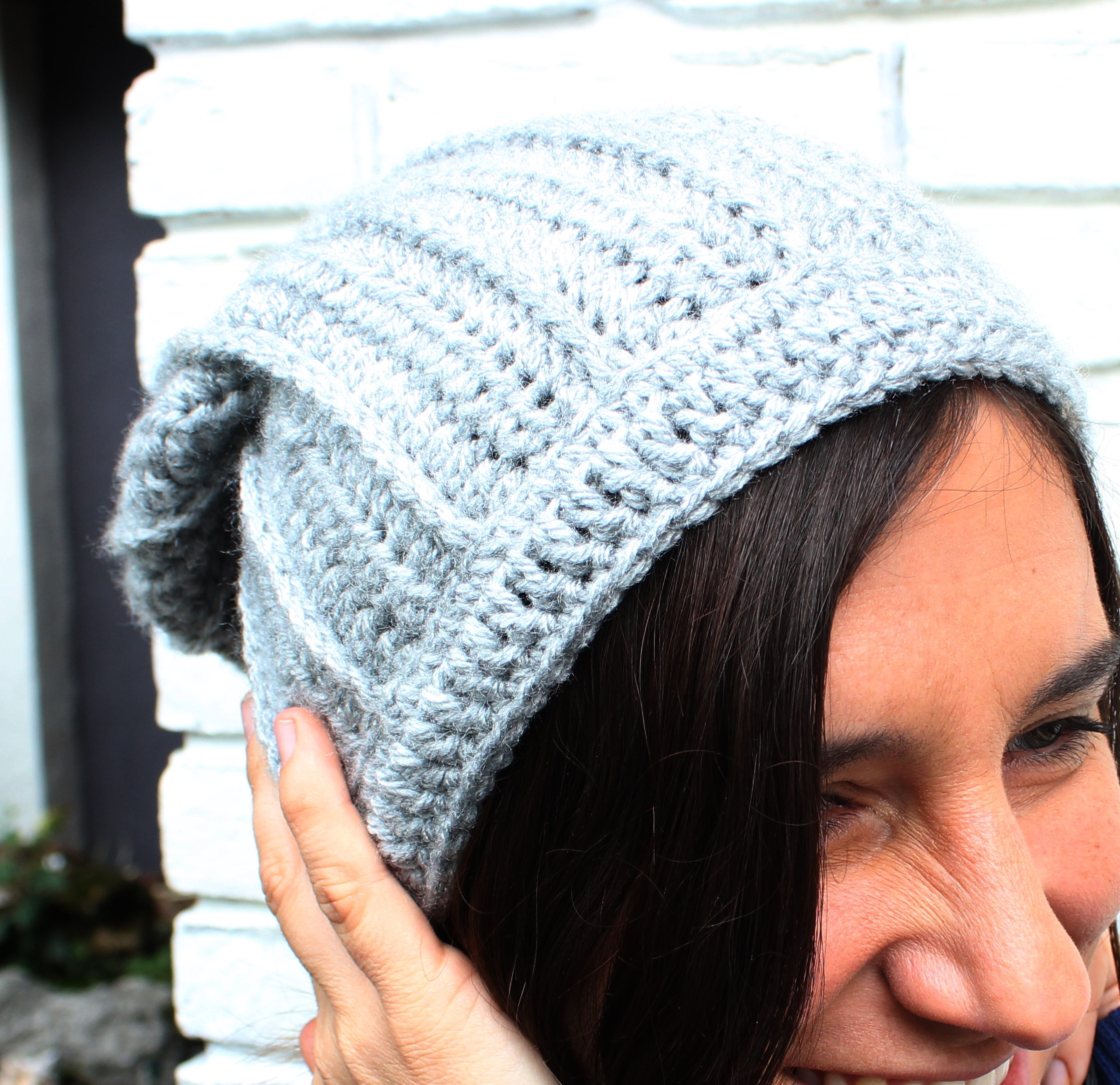 Awesome Free Crochet Slouchy Hat Pattern Knit Look Crochet Hat Free Slouchy Hat Pattern Of Amazing 45 Photos Free Slouchy Hat Pattern