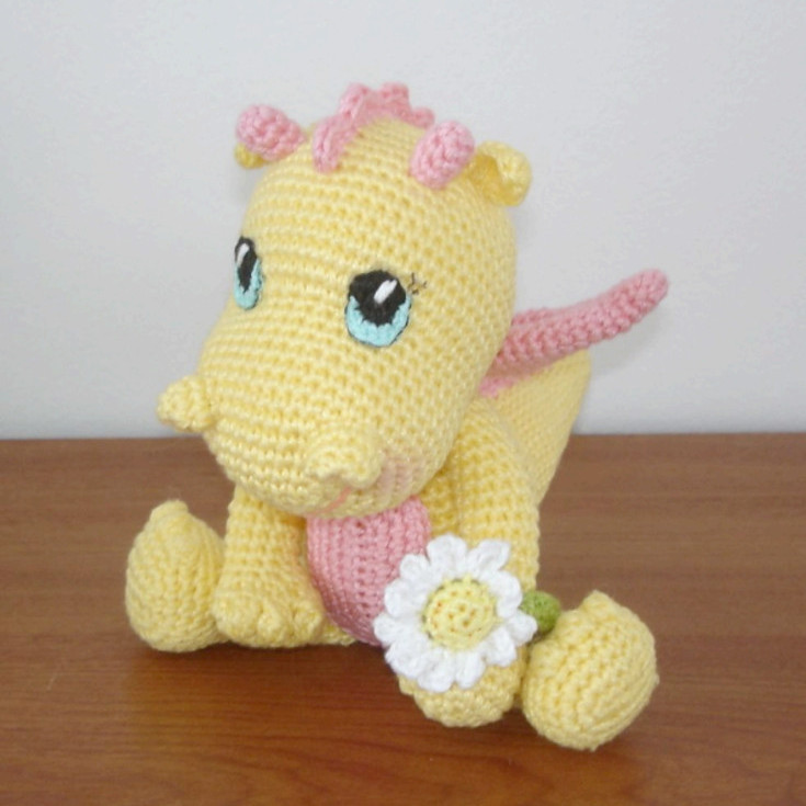 Awesome Free Dragon Amigurumi Crochet Pattern • Wixxl Crochet Dragon Pattern Of Brilliant 50 Pictures Crochet Dragon Pattern