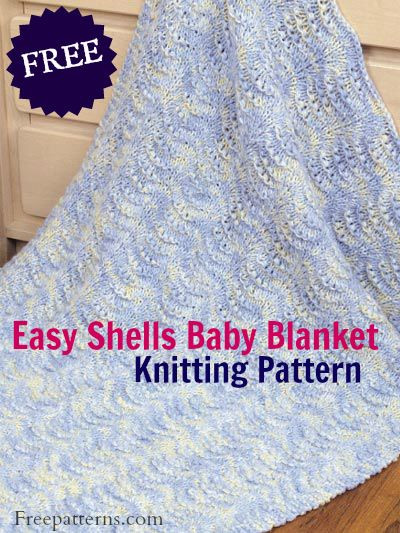 Awesome Free Easy Shells Baby Blanket Knitting Pattern Download Free Knitting Patterns for Baby Blankets and Shawls Of Innovative 43 Pictures Free Knitting Patterns for Baby Blankets and Shawls