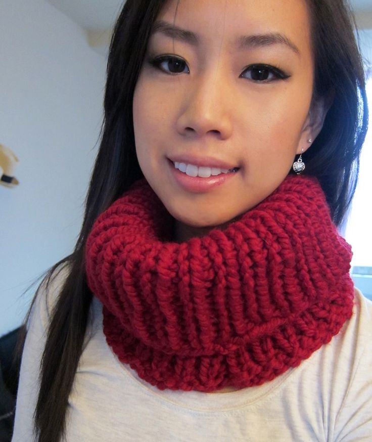 Free Knitting Pattern Cowls and Neck Warmers Quick Knit