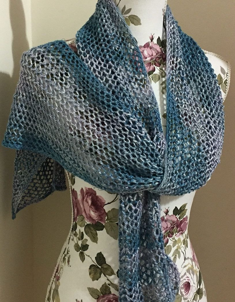 Awesome Free Knitting Pattern for E Row Repeat Lace Scarf Easy Crochet Lace Scarf Of Incredible 41 Models Crochet Lace Scarf