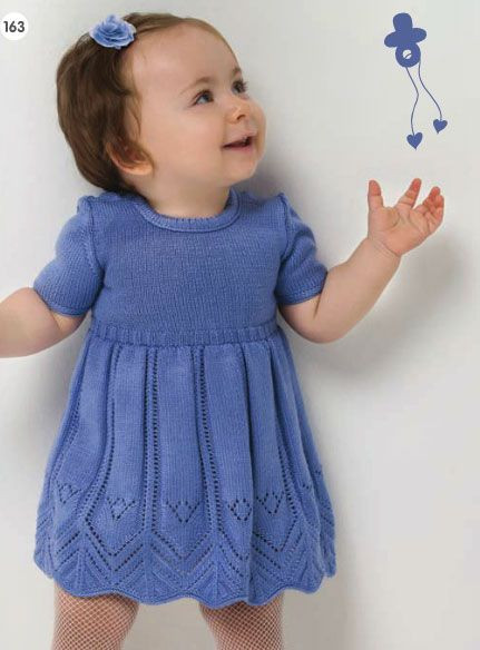 Awesome Free Knitting Patterns for Babies and toddlers Crochet Knitted Baby Dress Of Brilliant 49 Photos Knitted Baby Dress