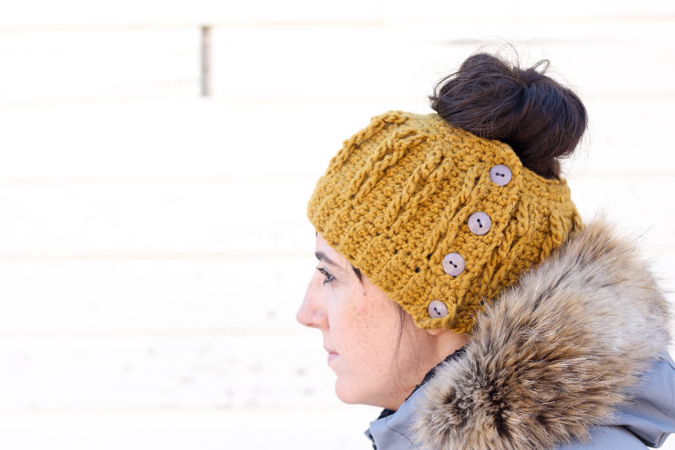 Awesome Free Market tote Bag Pattern Finger Crochet Video Tutorial Beanie with Bun Hole Of Amazing 46 Photos Beanie with Bun Hole