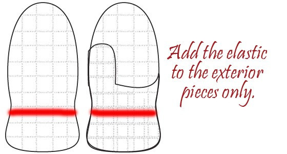 Awesome Free Mitten Pattern for Fleece and Step by Step Tutorial Mitten Pattern Of Top 42 Pictures Mitten Pattern